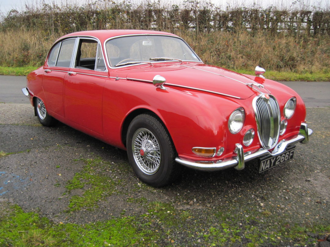 1968 Jaguar S Type 3.4 Manual