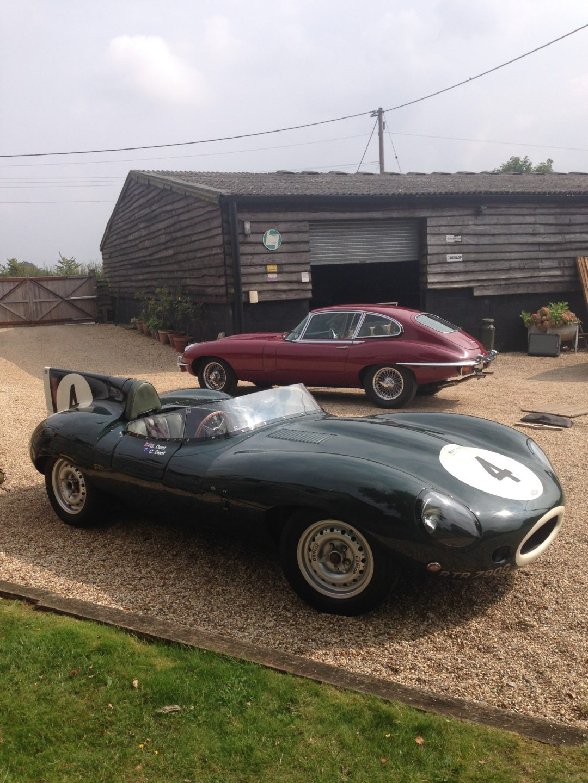1969 Jaguar D Type Replica
