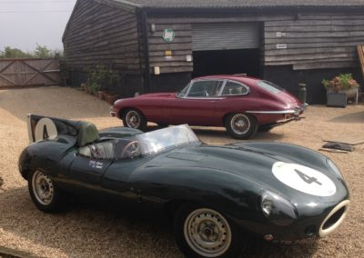 1969 Jaguar D Type Replica