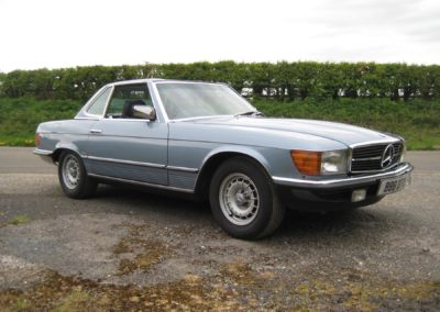 MERCEDES 380 SL AUTO 1985   SOLD