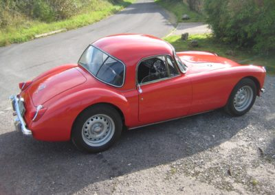 1958 MGA Twin Cam Coupe THIS CAR IS NOW SOLD