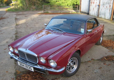 1978 Daimler Double Six Coupe Auto Work in progress… THIS CAR IS NOW SOLD