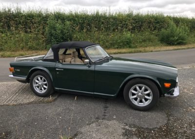 1972 Triumph TR6 150 BHP RHD This car is now sold.