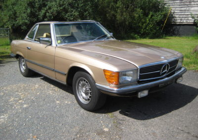 1980 Mercedes 380 SL Auto Work in progress