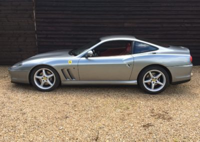 1998 Ferrari 550 Maranello LHD Manual £79950