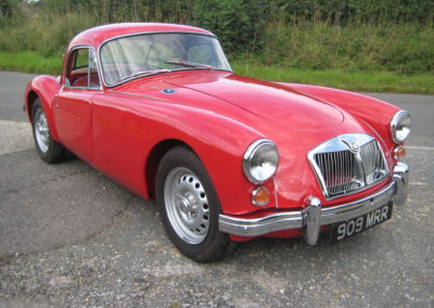 1962 MGA Mk2 1600 Delux Coupe  £39000