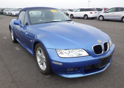 2000 BMW Z3 2.0 Automatic   Due in soon.
