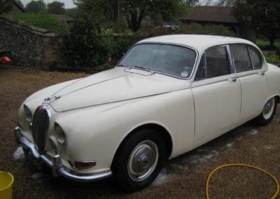 1968 Jaguar S Type 3.4 Manual  £6850