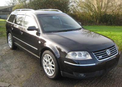 2002 VW Passat W8 Estate Auto. Low Mileage  SOLD.       2005 Silver car on its way soon.