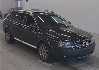 2004 Audi Allroad 4.2 V8 Auto Estate.   Awesome car in Black with two tone Black/Grey leather.