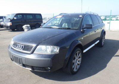 2004 Audi Allroad 4.2 V8 Auto Estate.   Awesome car in Black with two tone Black/Grey leather. £5750