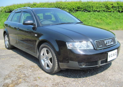 2003 Audi A4 3.0 Quattro Auto. 40000 miles from new Full leather interior SOLD