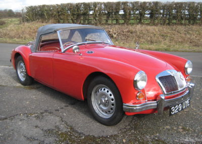 1960 MG MGA Twin Cam Roadster THIS CAR IS NOW SOLD