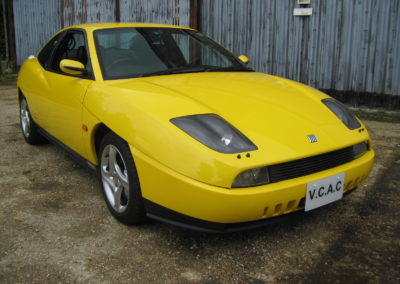 1999 Fiat Coupe 20V Turbo Manual 57000 miles  Grade 4B car . SOLD