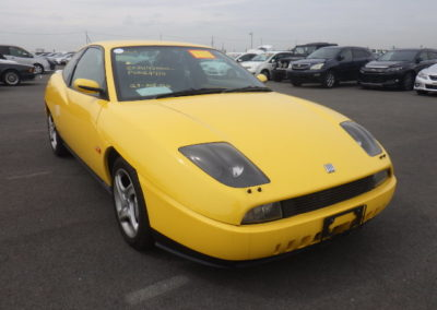 1999 Fiat Coupe 20V Turbo Manual 57000 miles  Grade 4B car …£5750 Due in at the end of May.