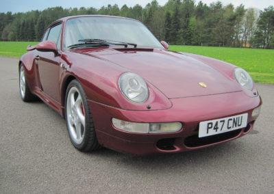 1996 Porsche 993 Turbo   SOLD