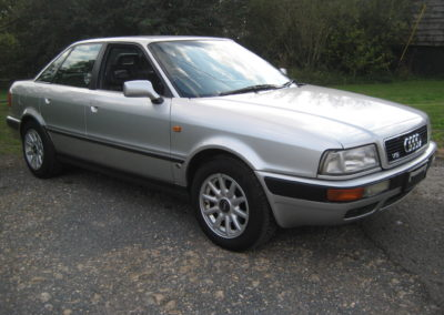 1995 Audi 80 2.6 V6 Saloon Auto 40000 miles from new SOLD