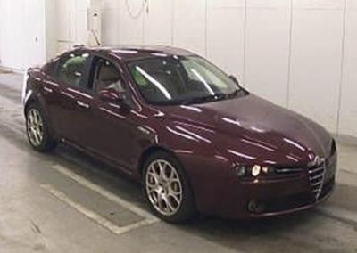 2007 Alfa Romeo 159 Lusso 3.2 V6 Auto Saloon 54000 miles £5750