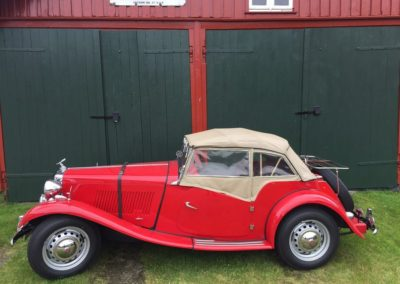 1953 MG TD RHD Will be ready for sale in July  POA
