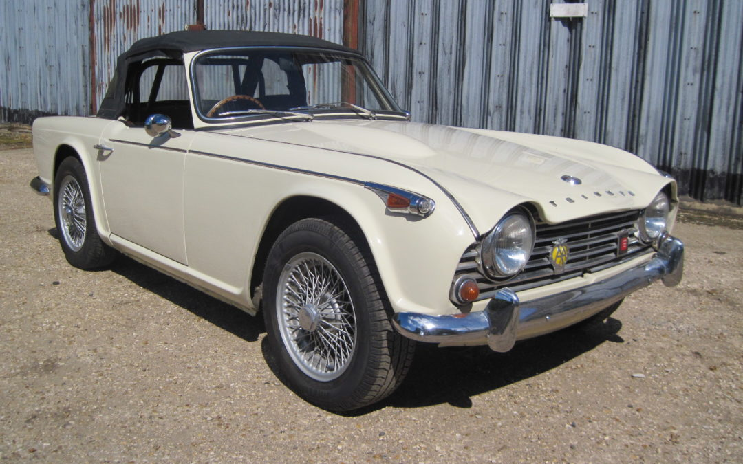 1965 Triumph TR4A RHD   £19500  Great value car. SOLD