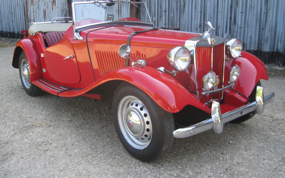 1953 MG TD RHD Will be ready for sale in July  DEPOSIT TAKEN