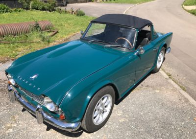 1964 Triumph TR4 LHD Surrey Top. POA
