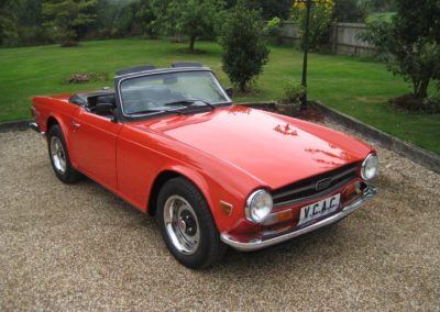 1973 Triumph TR6 RHD CR Chassis numbered car  POA