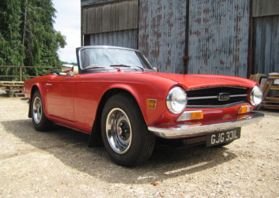 1973 Triumph TR6 PI  RHD CR Chassis numbered car  SOLD CAR