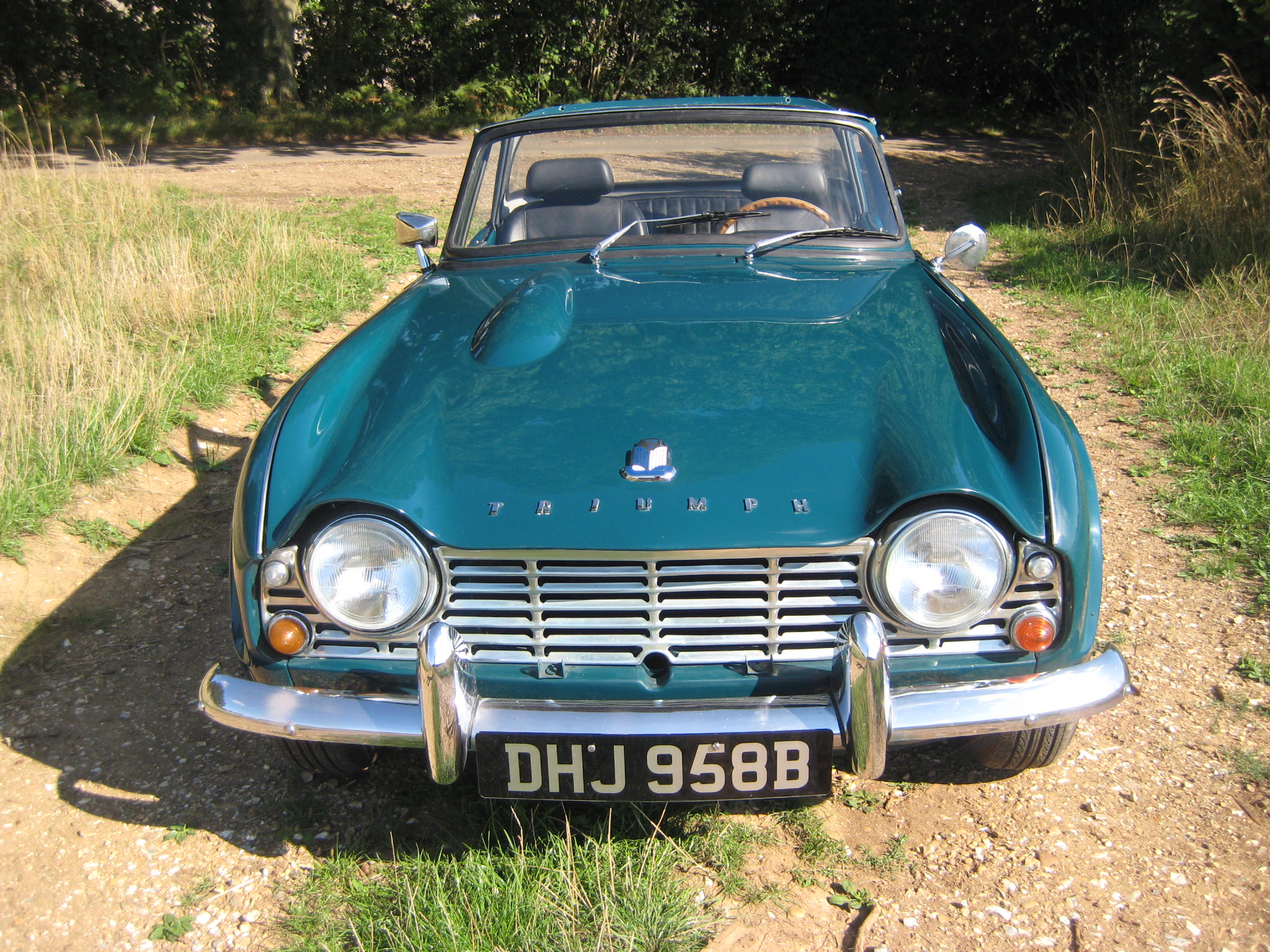 1964 Triumph TR4 LHD SOLD   Valley Cars and Classics