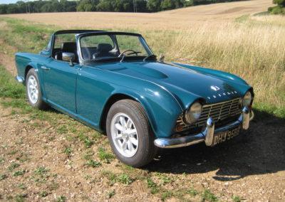 1964 Triumph TR4 LHD    £18750