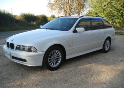 2003 BMW 525 Touring Highline Auto  £5250   Superb car in White.DEPOSIT TAKEN