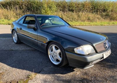 1994 Mercedes SL500 V8 Auto 73000 Miles Absolutely Mint Mint Mint  SOLD CAR