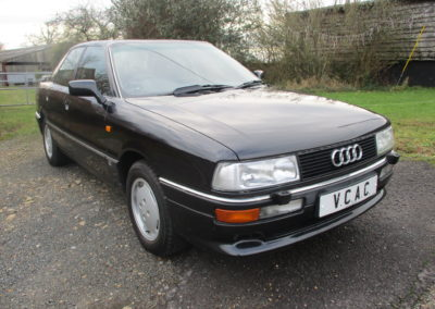 1990 Audi 90 2.3E Saloon Automatic.  Very rare indeed £4850