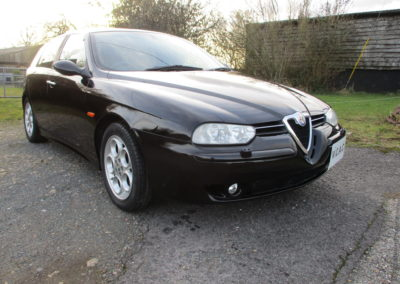 2002 Alfa Romeo 156 Sportwagon 2.5 V6 Full Spec Car Automatic. 44000 Miles from New SOLD