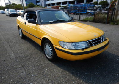 1998 Saab 900 2.3 S Cabriolet Automatic  Top Graded car with full leather  £4850