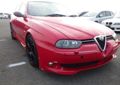 2004 Alfa Romeo 156 GTA Sportwagon Auto  Grade 4.5 top quality car done 46000 miles £10500