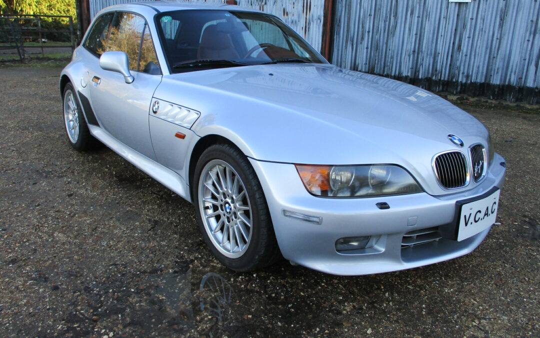 1999 BMW Z3 2.8 Coupe Auto LHD Top condition car done 75000 miles SOLD