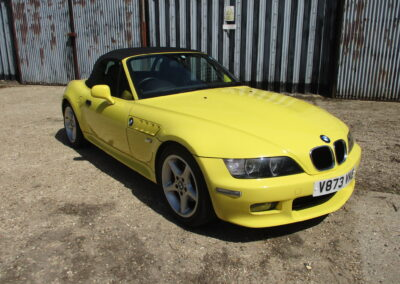 2000 BMW Z3 2.0 Roadster Automatic 35000 miles from new SOLD
