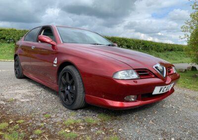 2004 Alfa Romeo 166 3.0 V6 Saloon Auto 70000 miles DEPOSIT TAKEN