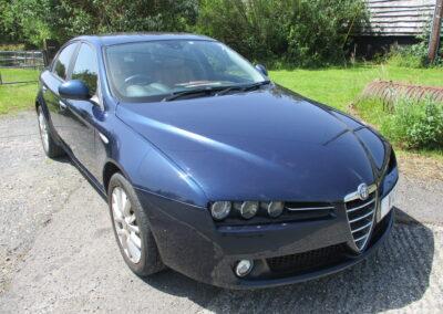 2008 Alfa Romeo 159 3.2 V6 Q4 AWD Saloon Auto 38000 miles £6950