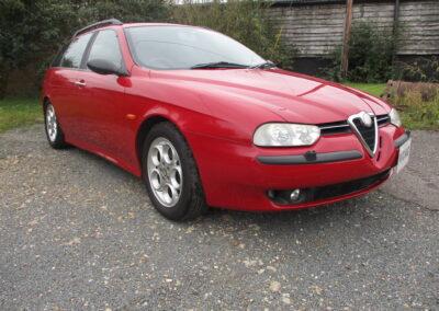 2000 Alfa Romeo 156 Sportwagon 2.5 ltr V6 Q System.Full Spec car Just Fantastic £5000