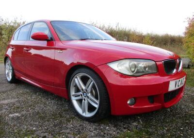 2007 BMW 130 M Sport 5 Door Hatchback Auto. 56500 Miles SOLD