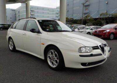 2001 Alfa Romeo 156 Sportwagon 2.5 V6 Q system 36500 Miles. £5000
