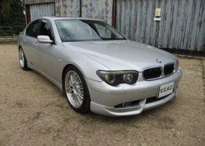 2003 BMW 745 Saloon. 45000 miles £5500. Body kit and 20″Split Rims