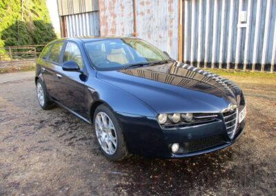 2008 Alfa Romeo Sportwagon 2.2 JTS Selespeed. 58000 miles £6500