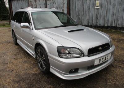 2002 Subaru Legacy Estate Turbo E Tune 11 Automatic. 55000 miles £5950