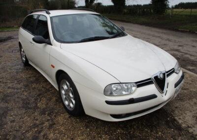 2001 Alfa Romeo 156 2.5 V6 Sportwagon Q System. 36400 miles. £5000