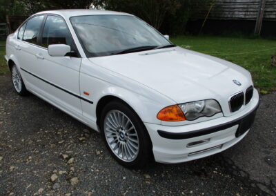 2001 BMW 330 Saloon Automatic. 46600 miles from new. 4.5 Graded car with full Red Leather interior. SOLD