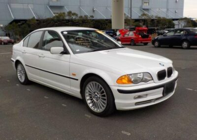 2001 BMW 330 Saloon Automatic. 46600 miles from new. 4.5 Graded car with full Red Leather interior. £5000