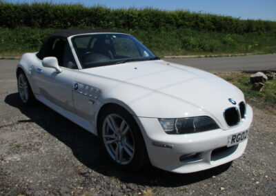 2002 BMW Z3 2.2 Roadster Auto. 60500 Mint condition.SOLD